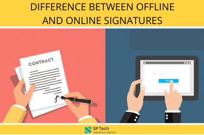 Difference Between Online and Offline Signatures