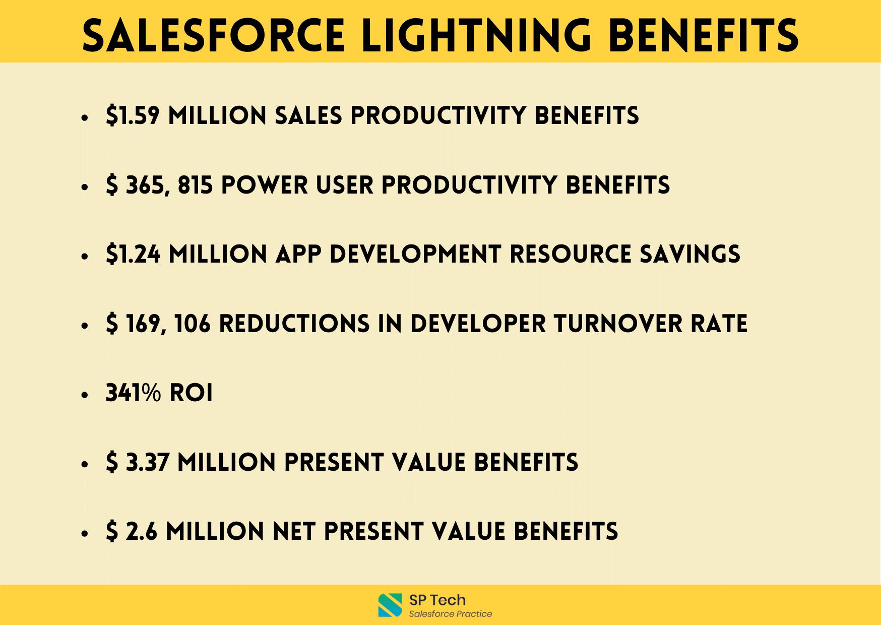 Salesforce Lightning Benefits